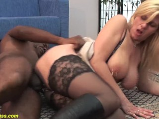 Your Wet Pussy Fucking, pierced milf ass fucked by a black monster cock Big Dick Big Tits Blonde