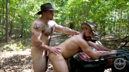 Cowboys Bareback - Big Bush Men from The Guy Site