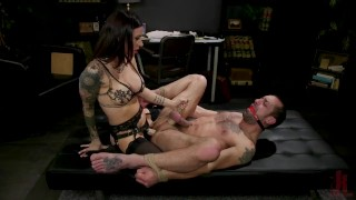 Screen Capture of Video Titled: Divine Therapy: Gia DiMarco Uses Unconventional Procedures