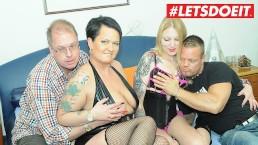 LETSDOEIT - Swinging amateur couples trocam quarteto