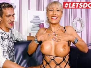 Sex Video Film Free Fucking, LETSDOEIT- Stunning German Milf Has Her First Sex Tape With Horny Step