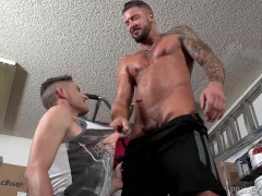DylanLucas Young Small Boy Loves His Coach Daddy's Thick Big Cock