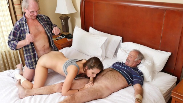 BLUE PILL MEN – Old Man Gets His Dick Wet With Young Escort Naomi Alice