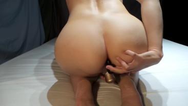 Elaine Marley Double Satisflyer and anal