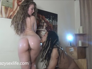 Ruined Orgasm Hypnosis Fucking, Goddess LenA Paul fucks her Sovereign Syre and Ty Rexxx Babe Big