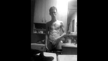 Snapchat, little tease before shower.