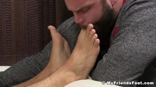 And off cumshot trevor muscle jerking stud worship foot cock masturbation