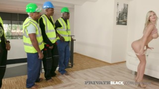 PrivateBlack - 5 BBC Gangbang With Blonde Nathaly Cherie!
