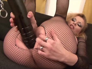 Hot Interracial rough anal fuck with blowjob and cum swallowing milf