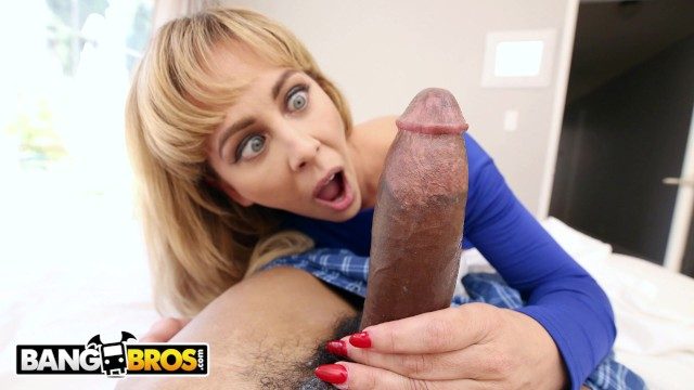 BANGBROS – Cock Hungry MILF Cherie Deville Gets Her Nut From Lil D in POV