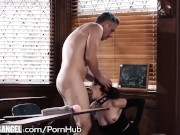 BurningAngel Goth Masturbating In Detention is Anally