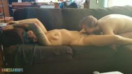 Lesbian Massage and Pussy Eating
