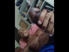 Edging monster Brazilian dick
