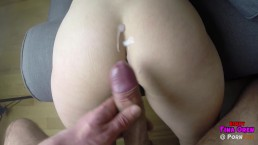 Violent spanking | Hard deep penetration | Cumshot closeup