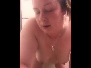 MOM lost bet and has to let friend watch and record her anal dildo !!!!!!!!