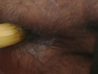 Banana in bed