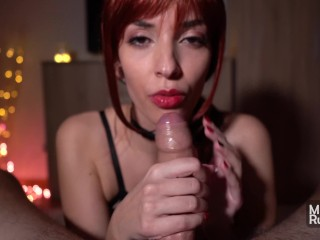 The Swinger Experience Presents After party POV Blowjob From Hot Redhead College Girl – 4K Cum Swallow