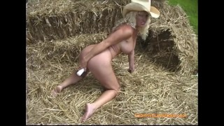 What's Better Than a HOT Granny Naked & Ready in the Hay?