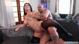 Hot Tattooed MILF Romi Rain loves big dicks - Spizoo4K