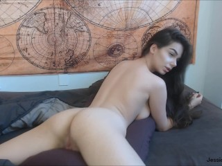 Waking Up Horny and Humping My Pillow