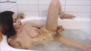 Girlfriend Fucks You in the Bathtub