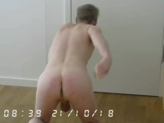 florian spanking that ass for us again in cam
