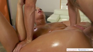 hot milf London River fucks young cock