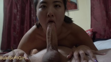 69 upside down DEEPTHROAT and ANAL with my asian girlfriend