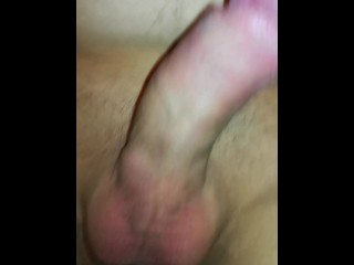 Edging a little with a lot od precum