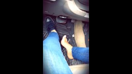 Pedal pumping with sneakers and barefoot. FULL VERSION ON MY PAGE