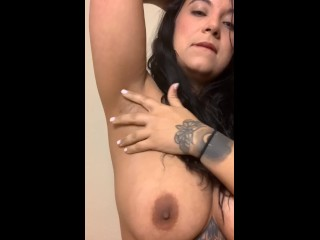 Shaving armpits and getting them smooth PREVIEW. FULL VERSION ON MY PAGE