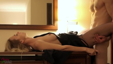 Cheating Wife Creampied By A Stranger In The Hotel