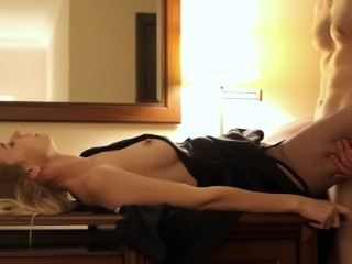 Pretty Bad Ass Cheating Wife Creampied By A Stranger In The Hotel, Amateur Big Ass
