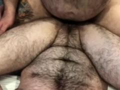 Big Daddy Bear Impregnates FTM Trans Man - Pussy Creampie