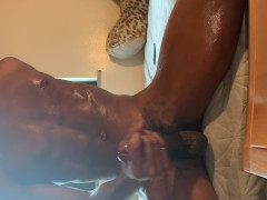 DL thug bust nut after edging for 24 hours