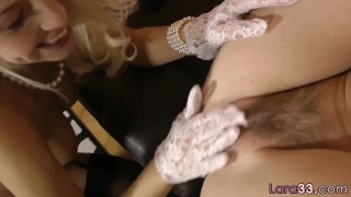 Gorgeous euro mature getting pussylicked