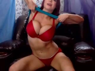 Triple Penetration Webcam Show Big Tit Redhead Kylee Nash...