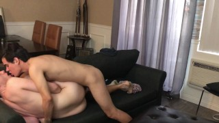 After School Bareback Fuck fucking Mutual Orgasm