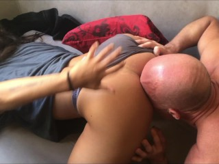 Fit Girlfriend Fucked Hard in the Morning - Amateur Couple