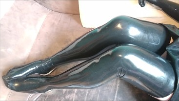 Shiny Latex stockings