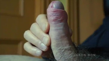 extreme close up cock pumping cum HD