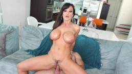 CULIONEROS - Epic MILF Lisa Ann Drives Mirko Steel Crazy With Her Big Tits