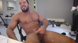 This Guy Is So Sexy Playing With His Big Fat Dick