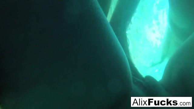 Underwater hidden camera lesbian fun with Alix and Jenna