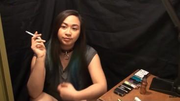 Miss Dee Nicotine Hard Core Smoking Fetish Play, and Ash Eating! :)