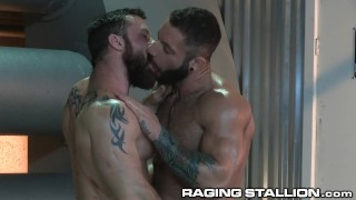 RagingStallion BAREBACK FUCK 4 These Hot Hairy Muscle Hunks!!