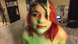 Covering Myself In Slime |KallieLoneWolf