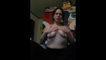 Natural titties teased