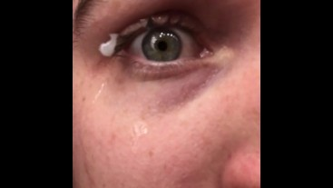 Couple Times that My Cum got Stuck on My Eyelashes :p