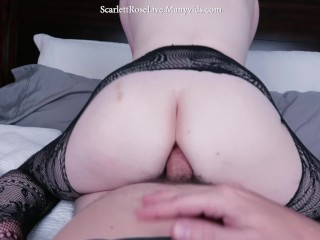 Scarlett Rose - POV Father-in-law Roleplay w/ Ass to Mouth